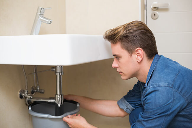 Bathroom Leak Detection