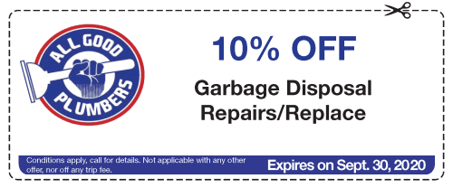 Coupon Garbage Disposal